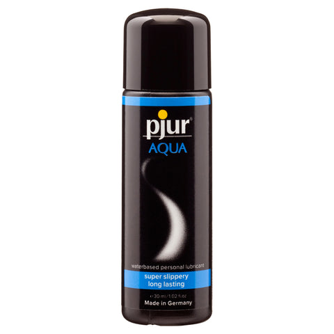 Pjur Aqua Waterbased Lubricant Transparent 30ml - AngelsandSinners