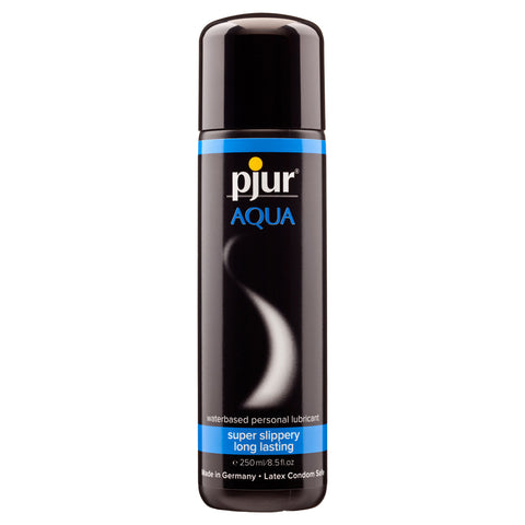 Pjur Aqua Waterbased Lubricant Transparent 250ml - AngelsandSinners