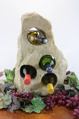 Stone Wine Bottle Holder W101