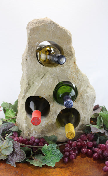 Stone Wine Bottle Holder W101 SOLD