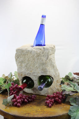Stone Wine Bottle Holder W103 SOLD