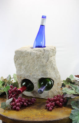 Stone Wine Bottle Holder W103
