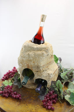 Stone Wine Bottle Holder W106 SOLD