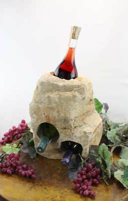 Stone Wine Bottle Holder W106