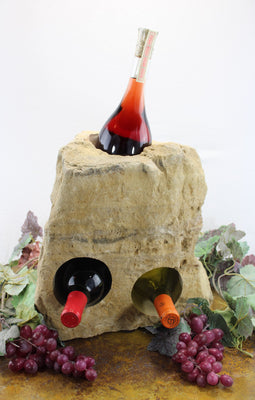 Stone Wine Bottle Holder W107