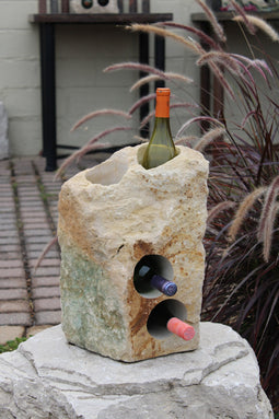 Stone Wine Bottle Holder W112