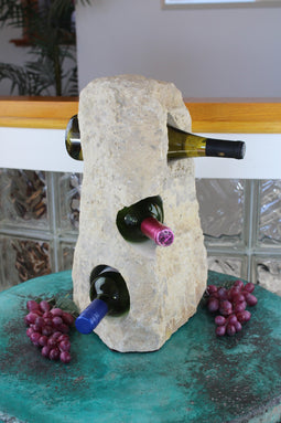 Stone Wine Bottle Holder W114