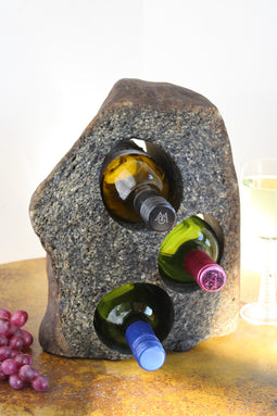 Stone Wine Bottle Holder W119 SOLD