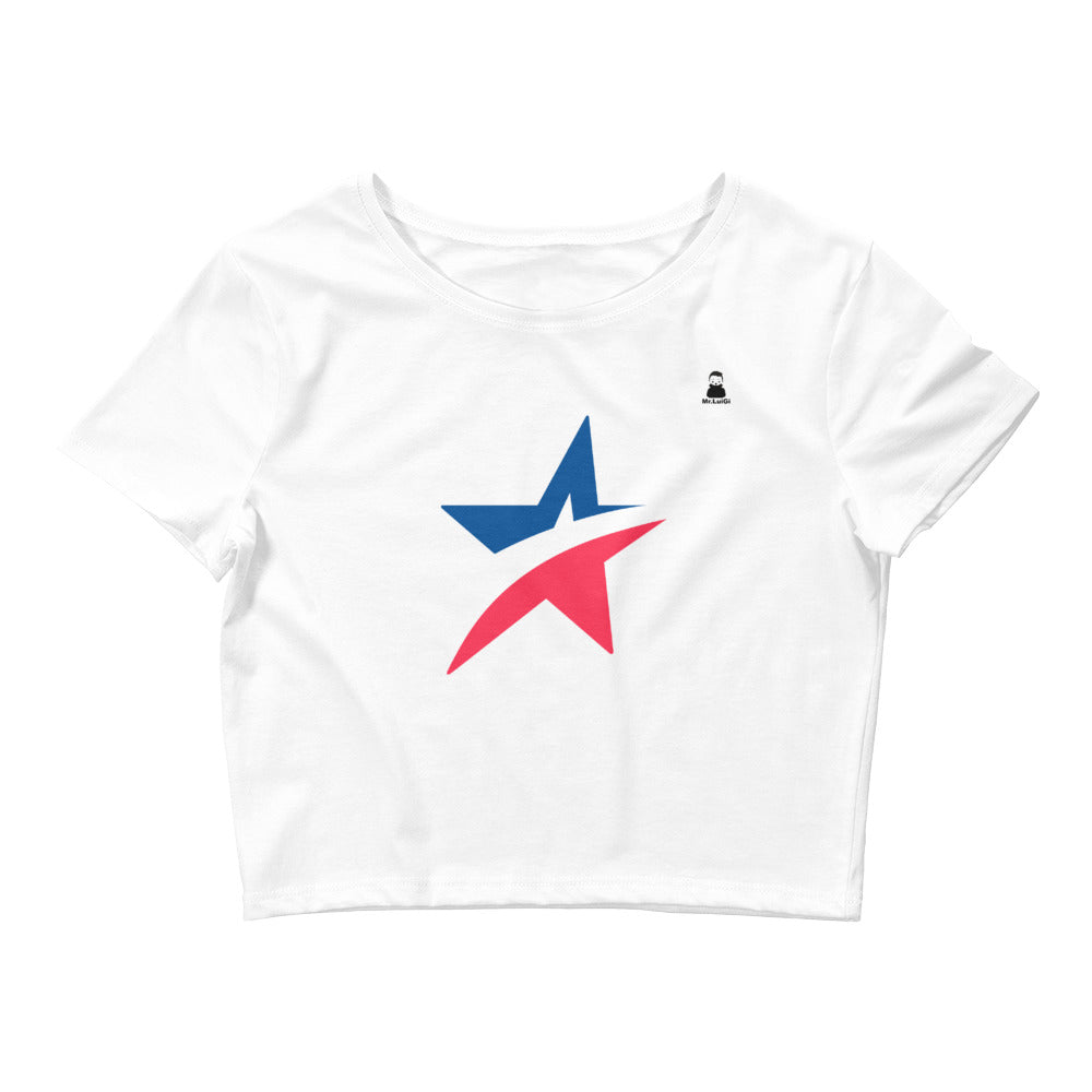 Women's Crop Tee Chile - Mr. LuiGi Shop Online