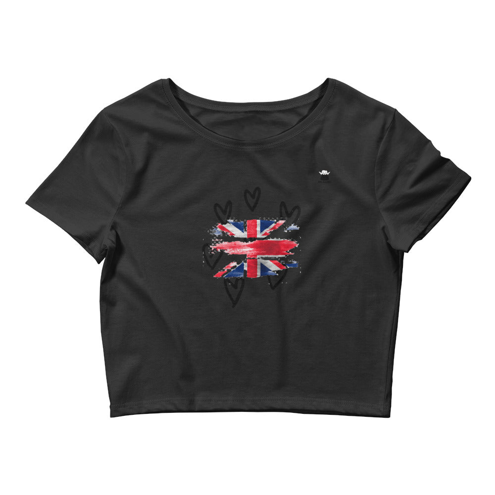Women's Crop Tee UK - Mr. LuiGi Shop Online