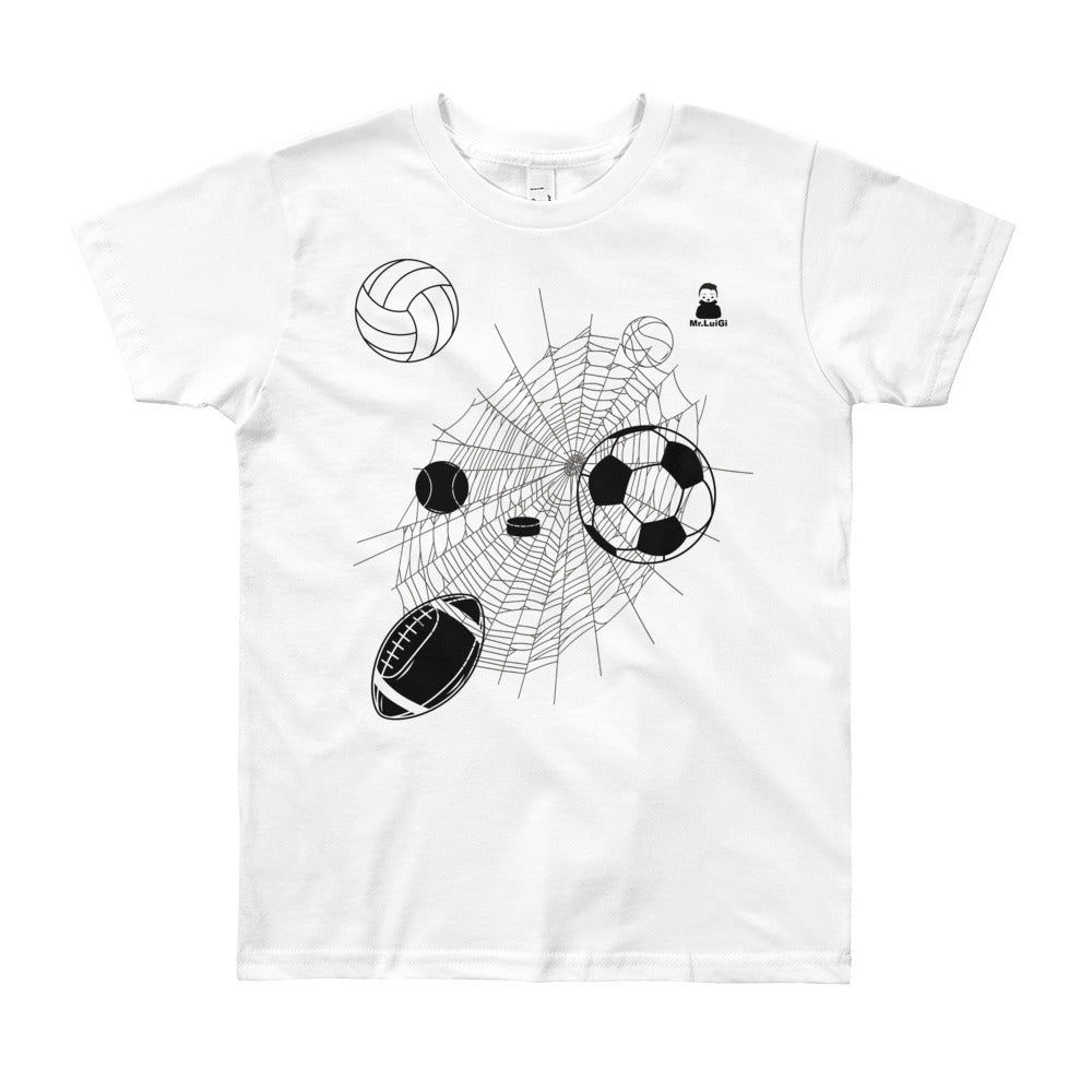 Youth Short Sleeve T-Shirt - Mr. LuiGi Shop Online