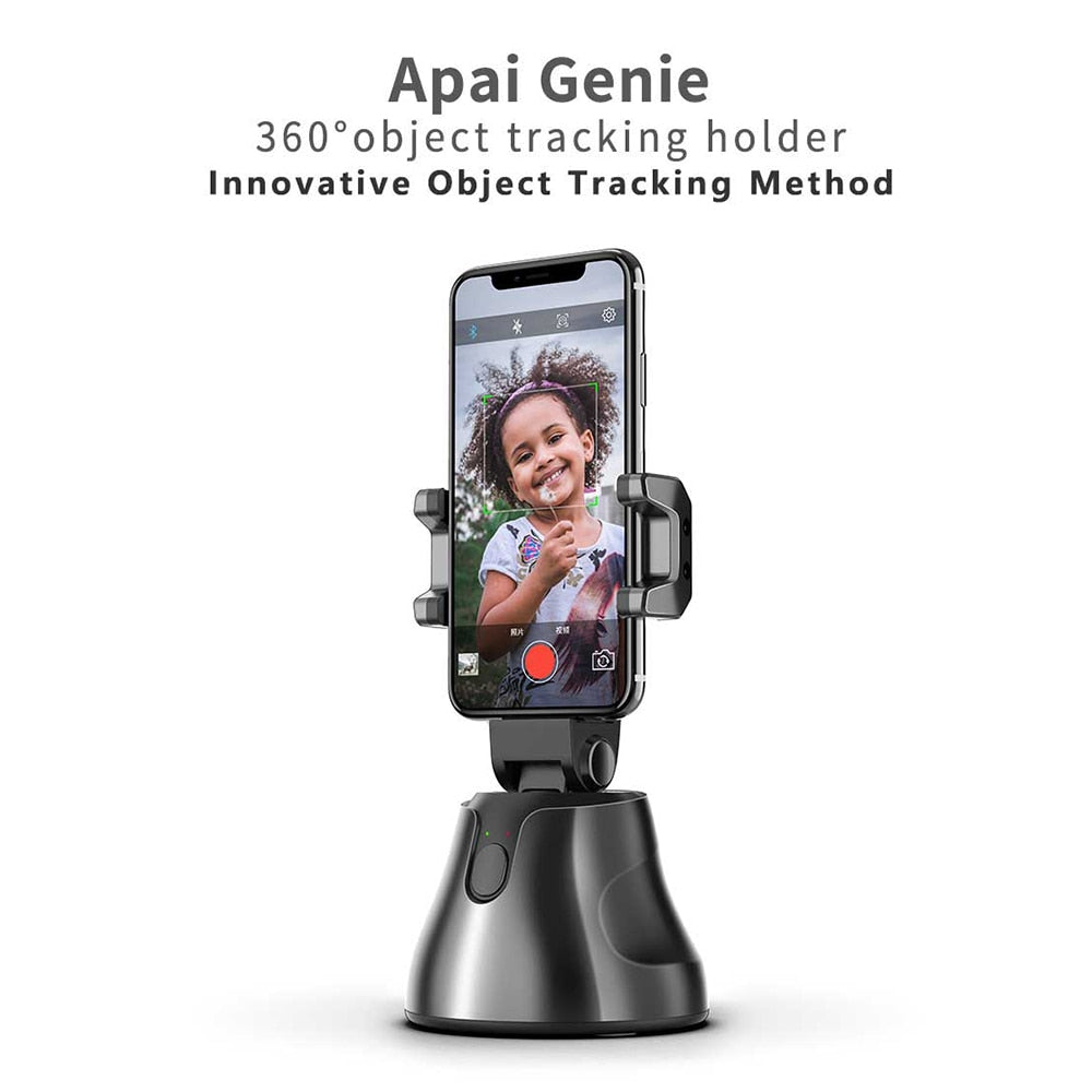 AI Smart Gimbal Personal Robot Cameraman - 360 Rotation & Auto Tracking Shootings
