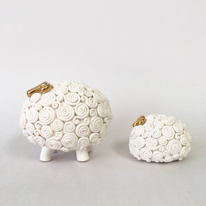 Mama & baby sheep - set of 2