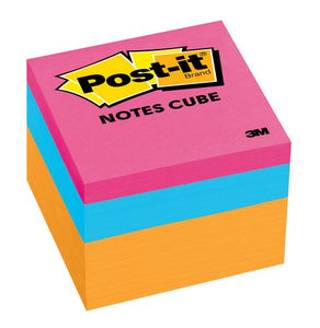 "3M Post-it Notes  2"" x 2"" 5's Assorted Colors"