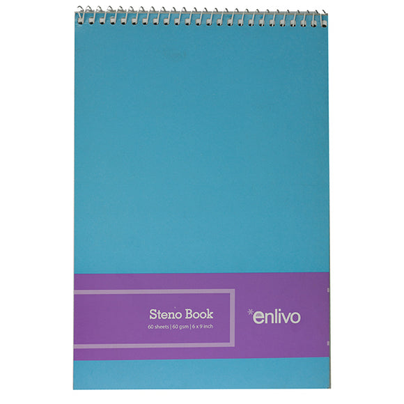 Enlivo Steno Notebook, 60 sheets