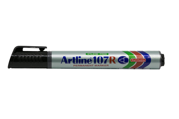 Artline Permanent Marker Refillable EK-107R 1.5mm Black