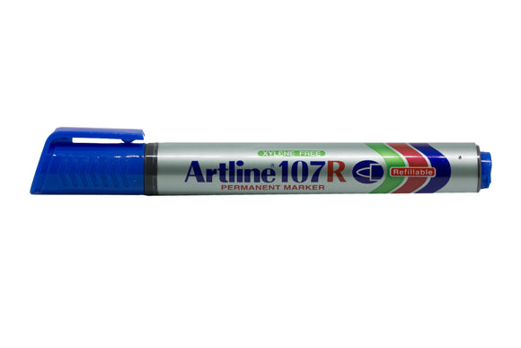 Artline Permanent Marker Refillable EK-107R 1.5mm Blue