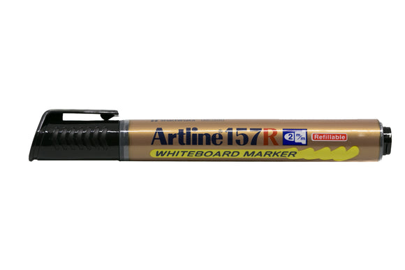 Artline Whiteboard Marker Refillable EK-157R 2mm Black