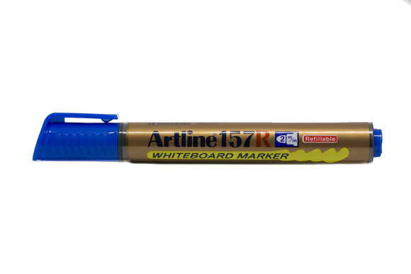 Artline Whiteboard Marker Refillable EK-157R 2mm Blue