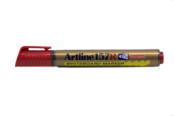 Artline Whiteboard Marker Refillable EK-157R 2mm Red