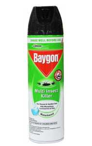 Baygon Multi Insect Killer, Water Based Aerosol Spray, 500 ml