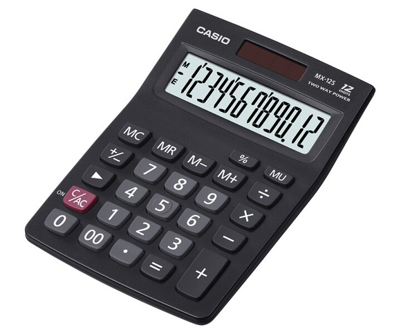 Casio Calculator MX-12