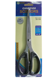 "Champion Scissors 8"" Black Handle"