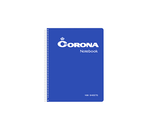 Corona Spiral Notebook #5100, 152 x 216mm, 100 leaves