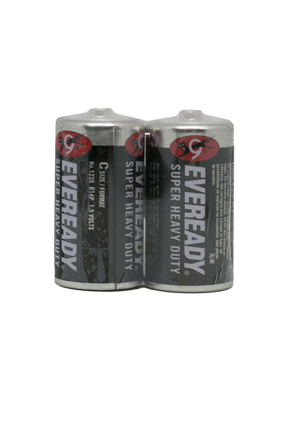 Eveready Battery Size C, Pack of 2's