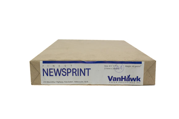 Finest Newsprint Paper, Short, GSM 49