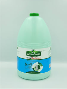 Green Cross Total Defense 5-in-1 Antibacterial Sanitizer Gallon