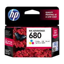 HP 680 Colored (Tri-Color) Ink Cartridge