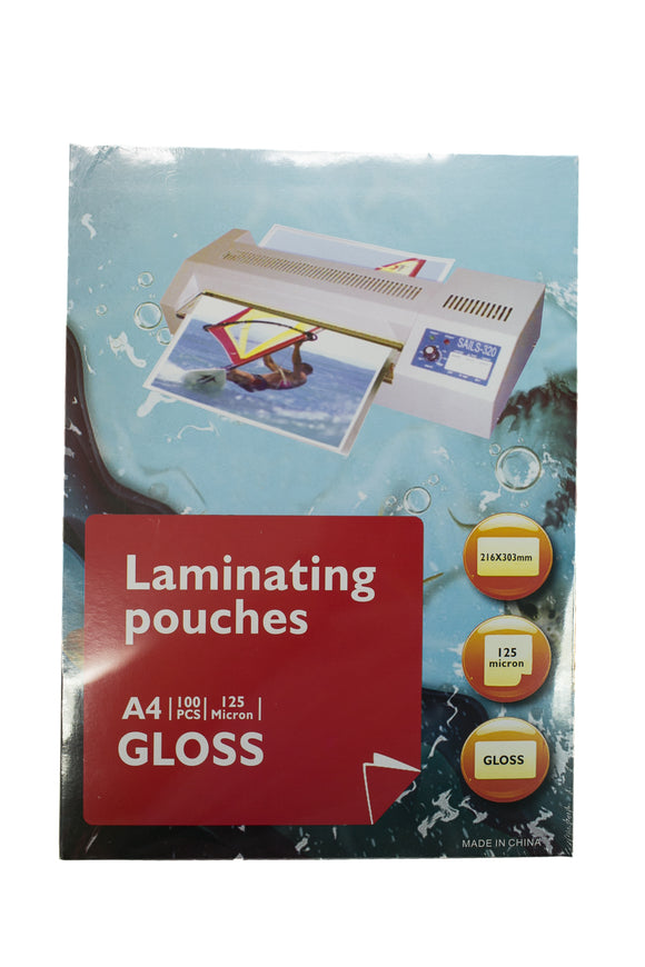 Laminating Film A4 125 microns, 100's