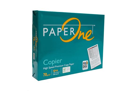 Paper One Copy Paper GSM 70 Sub. 20, Short