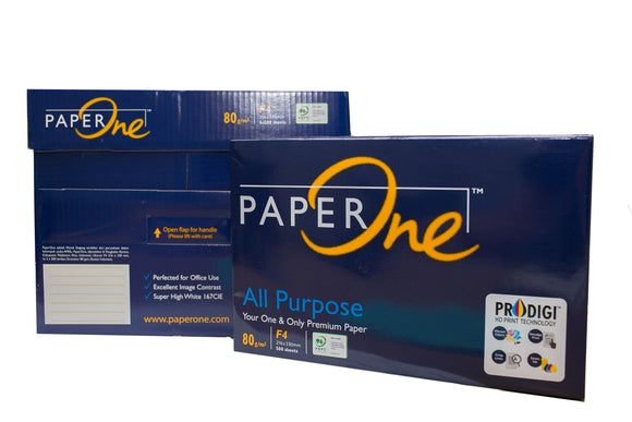 Paper One Copy Paper GSM 80 Sub. 24, Long