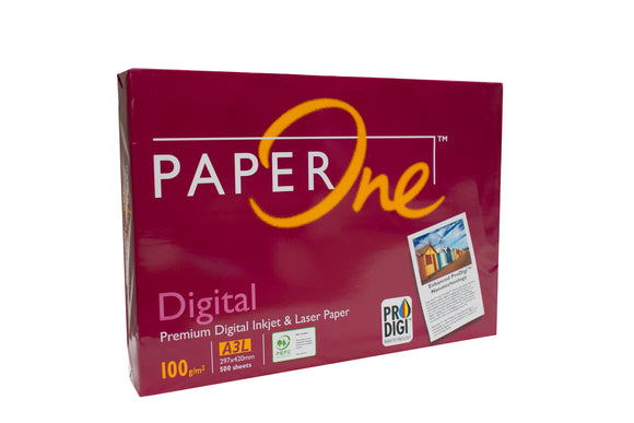 Paper One Digital (Presentation) Paper 100 GSM, A3