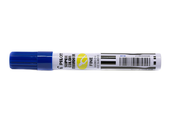 Pilot Permanent Marker Fine 4mm Blue