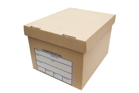 Storage Box with Cover, Bundle of 10's