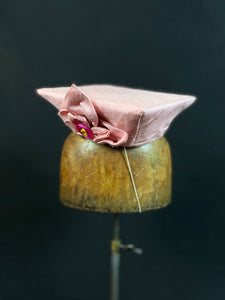Czapka - Silk with Bantam Feathers - Jonny Beardsall Hats