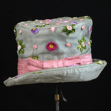 Load image into Gallery viewer, Emma Fedora - Vintage Upcycled Silk - Jonny Beardsall Hats