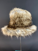 Load image into Gallery viewer, Imogen Fedora - Faux Fur & Silk - Jonny Beardsall Hats