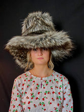 Load image into Gallery viewer, India Fedora - Faux Fur & Silk - Jonny Beardsall Hats