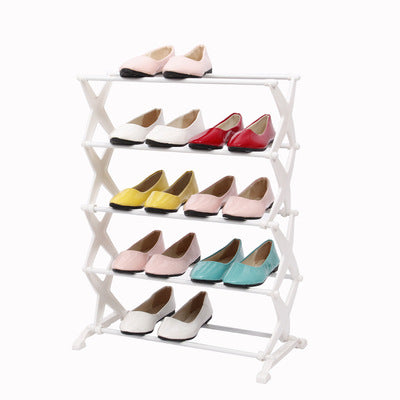 Portable 5 Tier Shoe Rack (4859723087906)