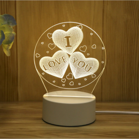 Image of 3D Decorative Night Light