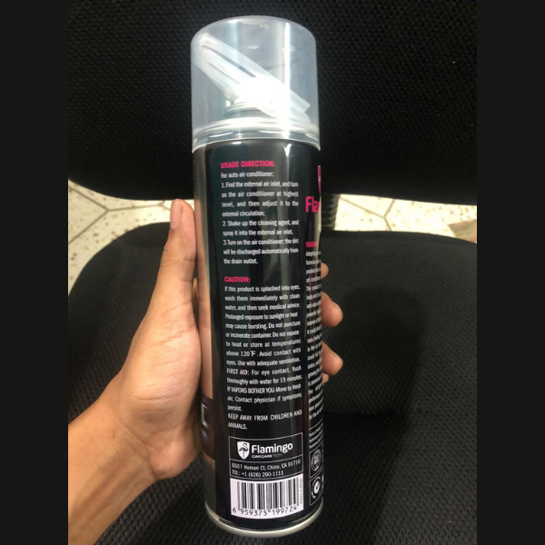 Flamingo Car AC Cleaner (4852229341218)