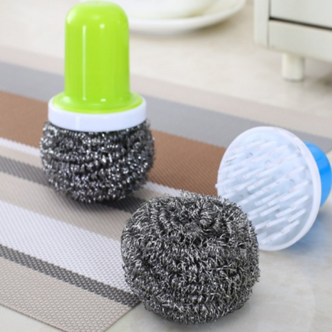 Cleaning Steel Ball Brush
