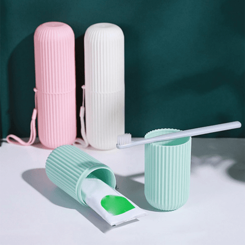 Image of Toothbrush & Paste Holder