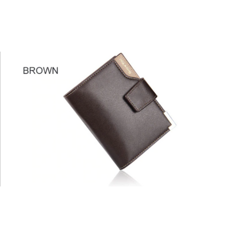 Image of Mens Short Wallet with Buckle