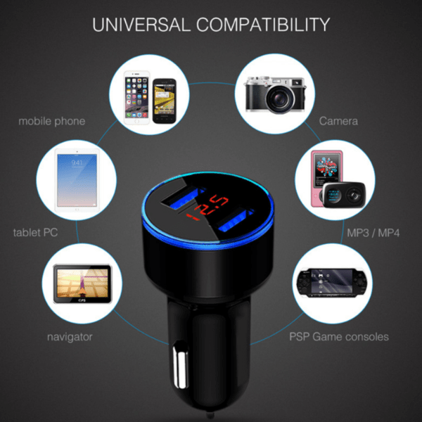 Car USB Charger (4610664005666)