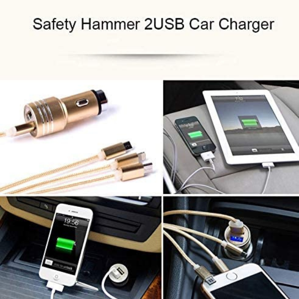 Car 3 in 1 USB Charging Cable (4846483013666)